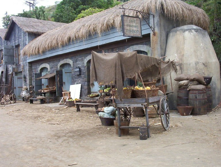 Wallilabou Pirates Of The Caribbean Set