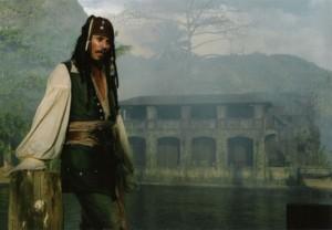 Captain Jack Sparrow at Wallilabou